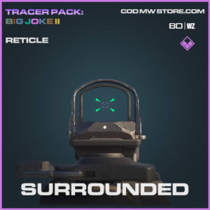 Surrounded reticle in Cold War and Warzone