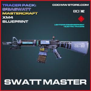 Swatt Master XM4 blueprint skin in Cold War and Warzone