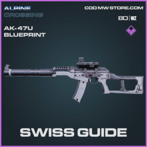 Swiis Guide AK-47u blueprint skin in Cold War and Warzone