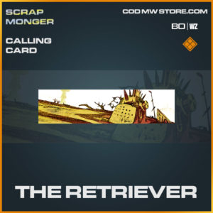 The Retriever calling card in Cold War and Warzone