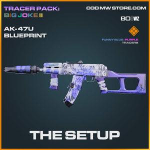 The Setup AK-47u blueprint skin in Cold War and Warzone