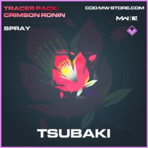 Tsubaki spray in Modern Warfare and Warzone