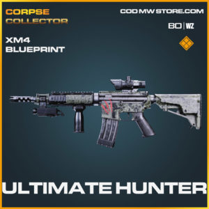 Ultimate Hunter XM4 blueprint skin in Cold War and Warzone