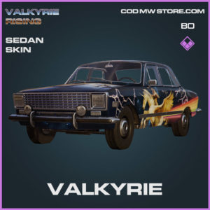 Valkyrie Sedan skin in Cold War and Warzone