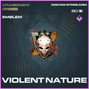 Violent Nature emblem in Cold War and Warzone