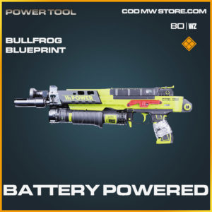 battery powered bullfrog blueprint in Cold War and Warzone