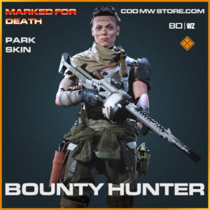 bounty hunter park skin in Cold War and Warzone