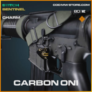 carbon oni charm in Cold War and Warzone