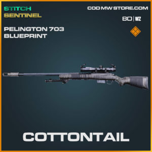 cottontail pelington 73 weapon blueprint in Cold War and Warzone