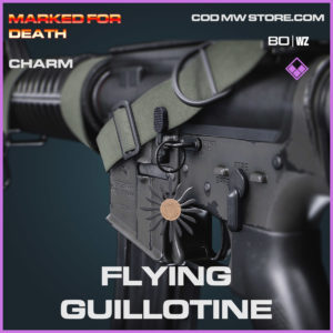 flying guillotine charm in Cold War and Warzone