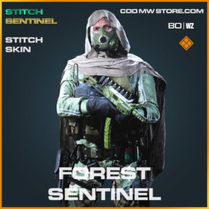 forest sentinel stitch skin in Cold War and Warzone
