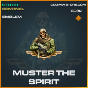 muster the spirit emblem in Cold War and Warzone