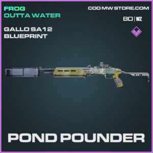 pond pounder epic gallo sa12 blueprint in Cold War and Warzone