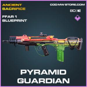 pyramid guardian ffar 1 blueprint in Cold War and Warzone