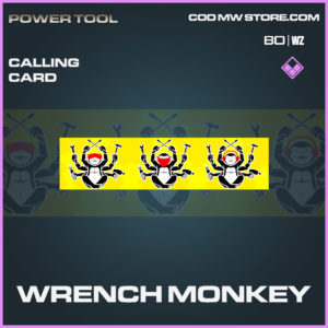 wrench monkey calling card in Cold War and Warzone