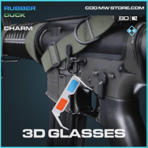 3D Glasses charm in Cold War and Warzone