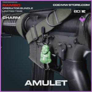 Amulet charm in Cold War and Warzone