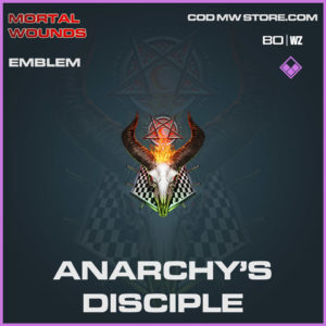 Anarchy's Disciple emblem in Cold War and Warzone