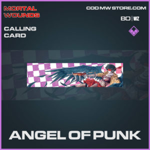 Angel of Punk calling card in Cold War and Warzone