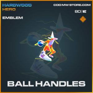 Ball handles emblem in Cold War and Warzone