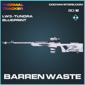 Barren Waste LW3 Tundra blueprint skin in Cold War and Warzone