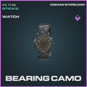 Bearing Camo watch in Cold War and Warzone