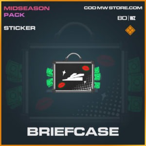 Briefcase sticker in Cold War and Warzone
