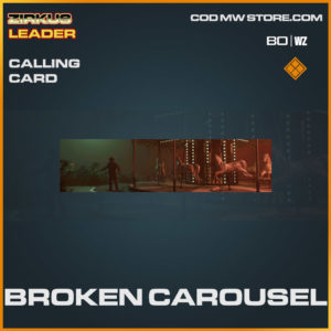 Broken Carousel calling card in Cold War and Warzone