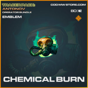Chemical Burn emblem in Cold War and Warzone