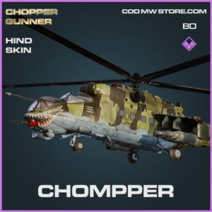 Chompper Hind skin in Cold War and Warzone