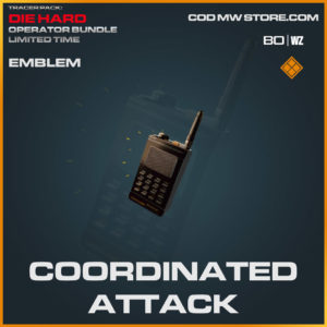 Coordinated Attack emblem in Cold War and Warzone