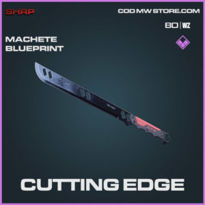 Cutting Edge Machete blueprint skin in Cold War and Warzone