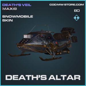 Death's Altar snowmobile skin in Cold War and Warzone
