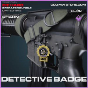 Detective Badge charm in Cold War and Warzone
