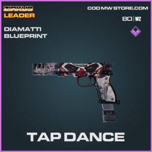 Tap Dance Diamatti blueprint skin in Cold War and Warzone