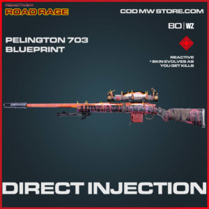Direct Injection Pelington 703 blueprint skin in Cold War and Warzone