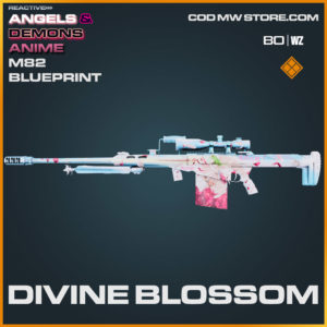 Divine Blossom M82 blueprint skin in Cold War and Warzone
