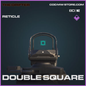 Double square Reticle in Cold War and Warzone
