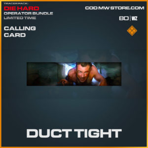 Duct Tight calling card in Cold War and Warzone