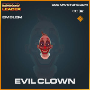 Evil Clown emblem in Cold War and Warzone