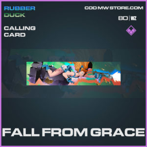 Fall From Grace calling card in Cold War and Warzone