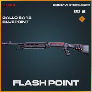 Flash Point Galla SA12 blueprint in Cold War and Warzone