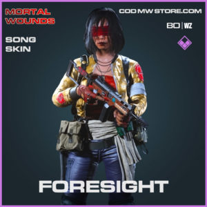 Foresight song skin in Cold War and Warzone