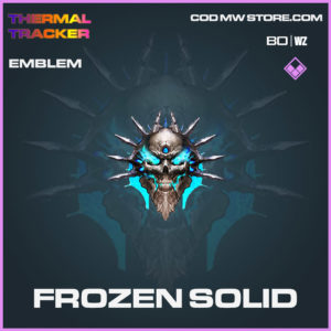 Frozen Solid emblem in Cold War and Warzone