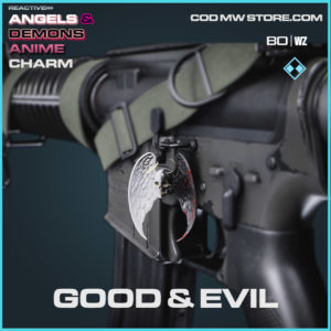 Good & Evil charm in Cold War and Warzone