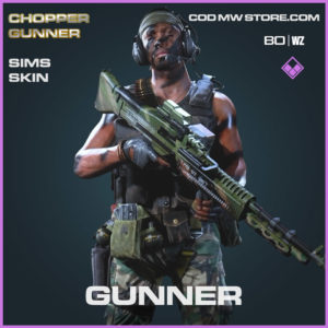 Gunner Sims Skin in Cold War and Warzone