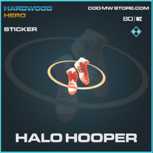 halo hooper sticker in Cold War and Warzone