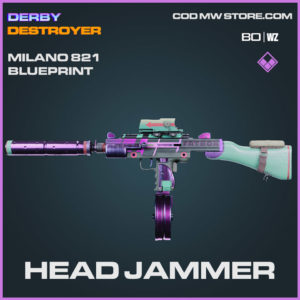 Head Jammer Milano 821 blueprint skin in Cold War and Warzone