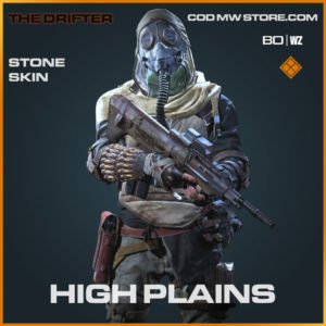 High Plains stone skin in Cold War and Warzone