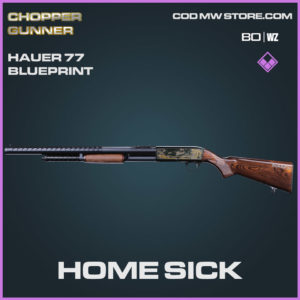 Home Sick Hauer 77 blueprint skin in Cold War and Warzone